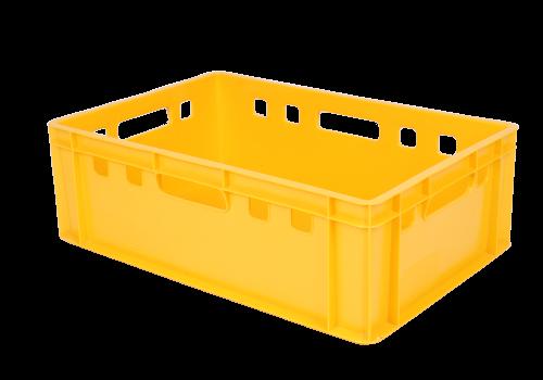 Unikalne Skrzynka Pojemnik Na Mięso Euro E2 żółty JX94